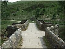 SK1695 : Packhorse Bridge at Slippery Stones  by JThomas