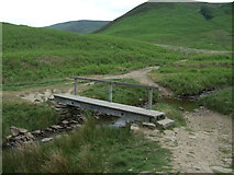 SK1695 : Foot bridge over Cranberry Ness by JThomas