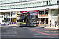 SJ8497 : Blackpool Bus in Manchester by David Dixon