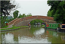 SP6989 : Rainbow Bridge at Foxton Junction in Leicestershire by Roger  Kidd