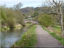 SK3056 : Bridge over Cromford Canal by Chris Gunns
