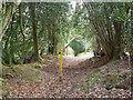 TQ1928 : Start of bridleway 1693 by Robin Webster