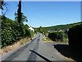 SJ2623 : Along Cefn Lane in Porth-y-waen village by Richard Law