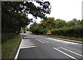 TL9226 : Entering Ford Street on the A1124 Fordstreet Hill by Adrian Cable