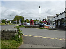 SX5267 : Yelverton - shops by Chris Allen