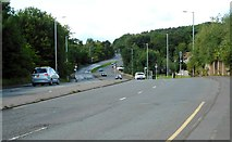 NS5160 : A726 Nitshill Road by Richard Sutcliffe