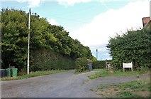 SU4256 : Short road in Crux Easton by David Howard