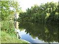 SE1238 : Depth gauge above Hirst Mill Weir by Stephen Craven