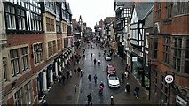 SJ4066 : West along Eastgate Street, Chester by Brian Robert Marshall