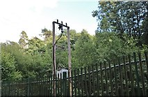 SU4361 : Electricity transformer on Woolton Hill by David Howard