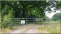 ST4297 : Golden Hill Farm entrance by Jonathan Billinger