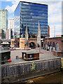 SJ8398 : Greengate Square and Embankment by David Dixon