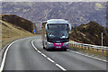 NN6375 : Coach Travelling North on the A9 by David Dixon