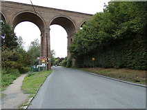 TL8928 : Entering Wakes Colne on the A1124 Colchester Road by Adrian Cable