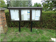 TL8928 : Wakes Colne & Chappel Village Notice Board by Adrian Cable