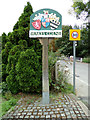 TL8928 : Wakes Colne Village sign by Adrian Cable