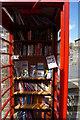 SE1005 : Former telephone kiosk on Woodhead Road, Holme by Ian S
