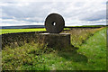 SE1007 : Peak National Park boundary stone on the A635 by Ian S