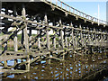 NZ2362 : Dunston Staiths - detail by Mike Quinn
