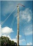 TG3619 : The Pleasure Wherry 'Hathor' - mast by Evelyn Simak