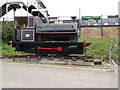 TL8928 : Locomotive at Chappel & Wakes Colne Railway Station by Adrian Cable