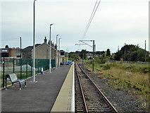 TM2532 : Harwich Town station platform by Robin Webster