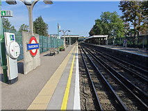 TQ4088 : Snaresbrook Underground station, Greater London by Nigel Thompson