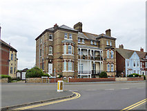 TM2531 : Flats on Marine Parade, Dovercourt by Robin Webster