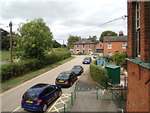 TL8928 : The former Railway Tavern Public House & Station Road by Adrian Cable