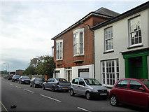 TM2532 : Building on West Street, Harwich by Robin Webster
