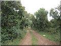 SP0356 : Bridleway to Morton Spirit Farm by Jonathan Thacker