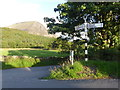 NY1421 : Signpost between Scalehill Bridge and Loweswater by Marathon