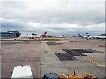 SJ8184 : Manchester Airport by Brian Deegan