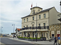 TM2532 : Pier Hotel, Harwich by Robin Webster