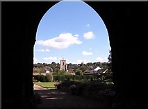 TG2309 : View from Bishop Salmon's Porch by Evelyn Simak