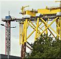J3575 : Wind turbine parts, Harland & Wolff, Belfast  -  September 2018(3) by Albert Bridge