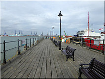 TM2532 : Ha'penny Pier, Harwich by Robin Webster