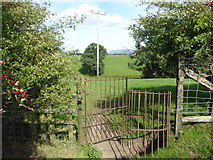 SD6838 : Footpath to Stonyhurst College by Marathon