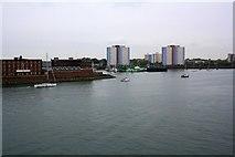 SZ6299 : Gosport: Waterfront panoramic (3 of 4) by Nigel Cox