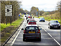 NO0930 : Speed Cameras on the A9 north of Luncarty by David Dixon