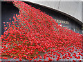 SJ8097 : Wave at Imperial War Museum North by David Dixon