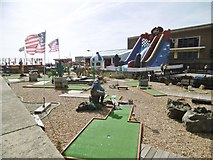 TQ2804 : Hove, crazy golf by Mike Faherty