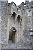 S0524 : Portcullis gate, Cahir Castle by N Chadwick