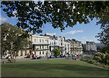 ST5673 : Sion Hill, Clifton, Bristol by Paul Harrop