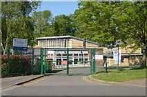 TQ5841 : St John's Primary School by N Chadwick