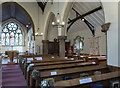 SK9465 : All Saints' church interior, North Hykeham by Julian P Guffogg