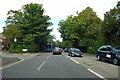 SU4115 : A33 Bassett Avenue heading north by Robin Webster