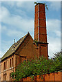 SK5704 : Sarah's Engine House at Friars Mill in Leicester by Roger  Kidd