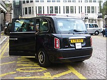 TQ3080 : LEVC TX London Taxi, Charing Cross Station by Oast House Archive