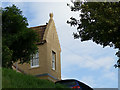 NT9952 : House with mitre finials, Bank Hill, Berwick-upon-Tweed by Stephen Craven